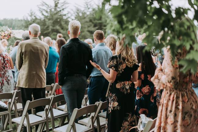 Most comments were in support of the bride-to-be, adding that she shouldn't have to invite her family members (Credit: Unsplash)