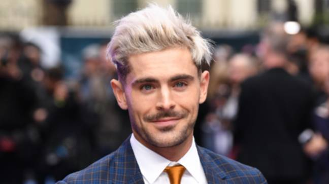 Zac Efron is starring as Andy in the film (Credit: PA)