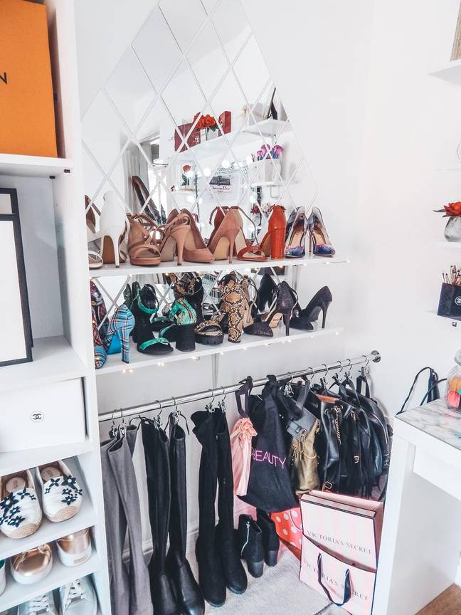 This nifty rail is a great space for hanging boots and bags (Credit: Latestdeals.co.uk)