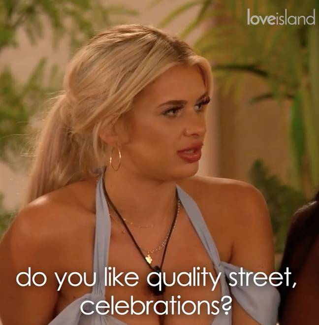 Liberty gave Teddy a grilling (Credit: ITV)