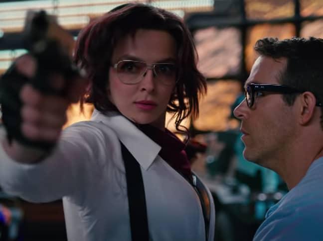 Jodie stars alongside Ryan Reynolds in Free Guy (Credit: 20th Century Fox)