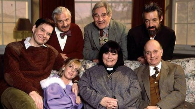 The original 'Vicar of Dibley' cast (Credit: BBC)