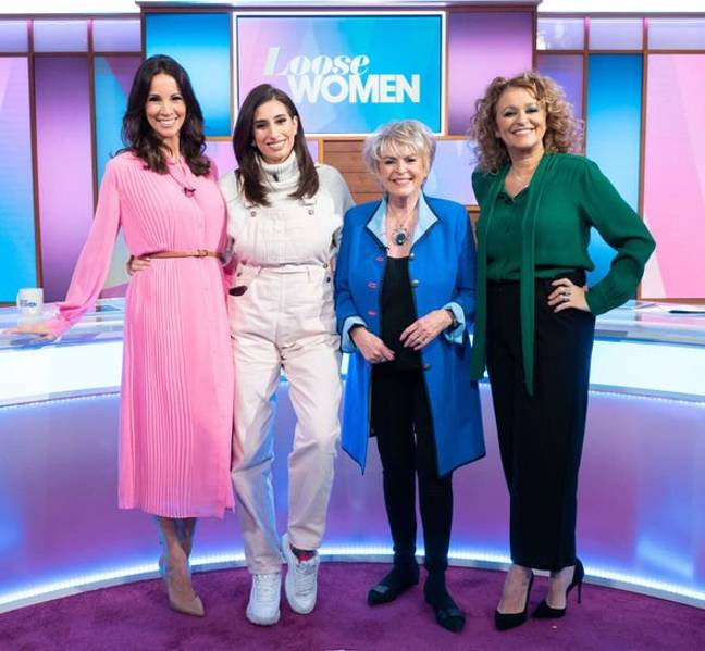 'Loose Women' repeats will be airing (Credit: ITV)