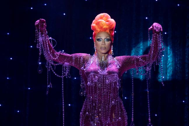 The Emmy Award-winner's new show sees the introduction of Ruby Red, played by RuPaul. (Credit: Netflix)