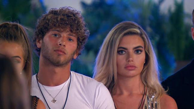 Megan and Eyal had a brief tryst on Love Island (Credit: ITV)