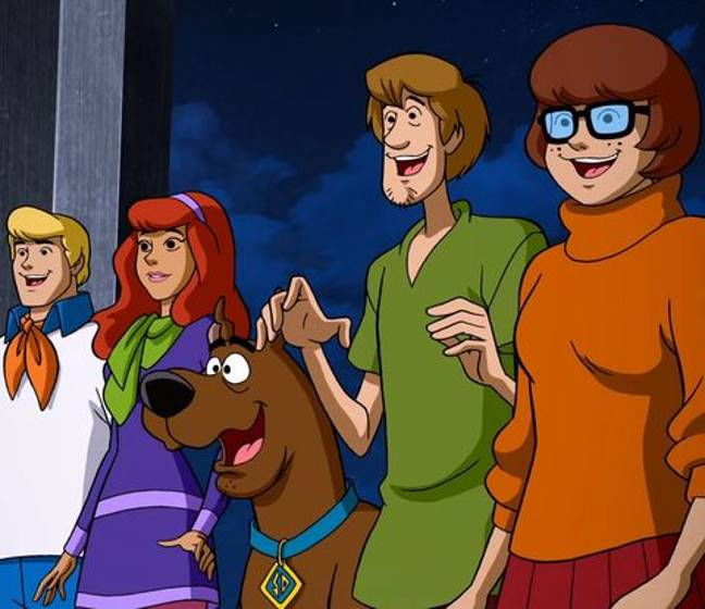 It's been 50 years since the first episode of Scooby Doo first aired and the gang look a little bit different (Credit: Warner Bros)