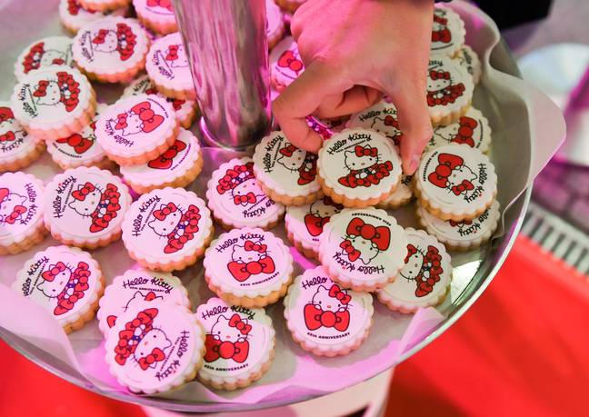 When Hello Kitty turned 40, the entire franchise was worth $8 billion (£6,907,835,513.60) a year (Credit: PA)