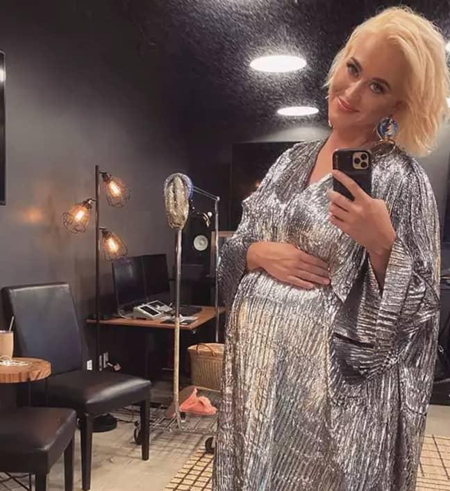 Katy has been honest about her pregnancy journey (Credit: Instagram/ Katy Perry)