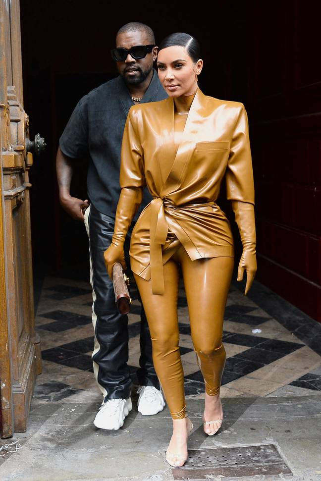 Rumours that Kim and Kanye, 43, were splitting have been circulating for weeks (Credit: PA)