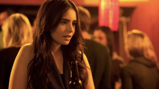 Lily Collins recently starred in 2020 thriller 'Inheritance' (Credit: Vertical Entertainment)