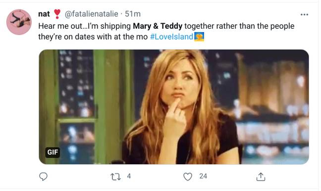 We ship Mary and Teddy