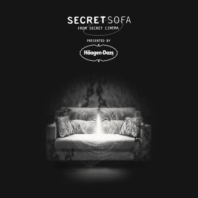 At 7.30pm every Friday, Secret Sofa offer a virtual at-home screening of one of Secret Cinema's most celebrated and critically acclaimed films, as well as lesser-known gems. (Credit: Secret Cinema)