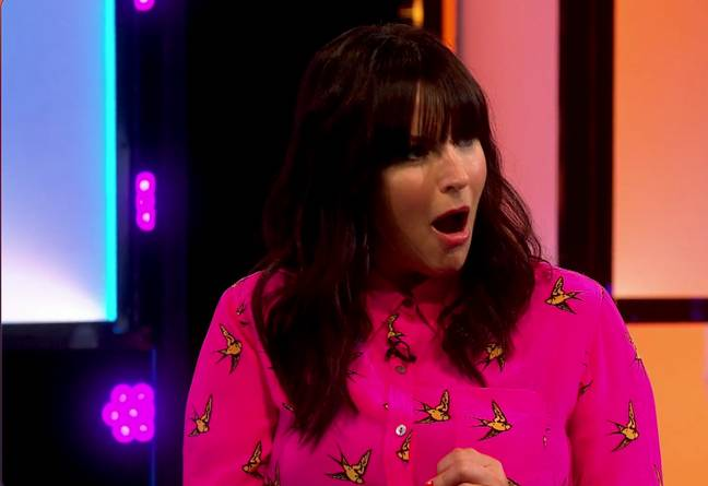 Anna Richardson was shocked to say the least (Credit: Channel 4)