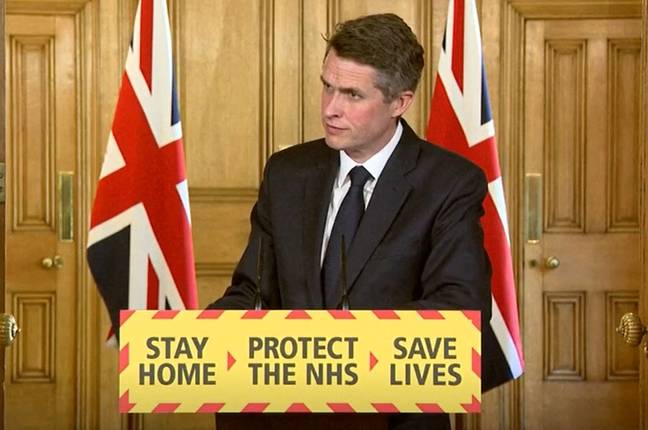 Gavin Williamson said he wants 'nothing more' than for kids to be back in school (Credit: PA)