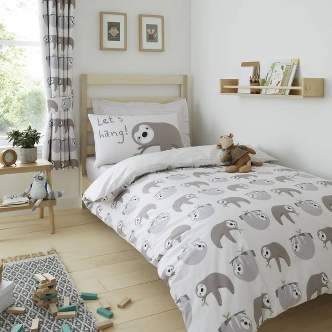Dunelm's sloth range is available in stores Credit: Dunelm