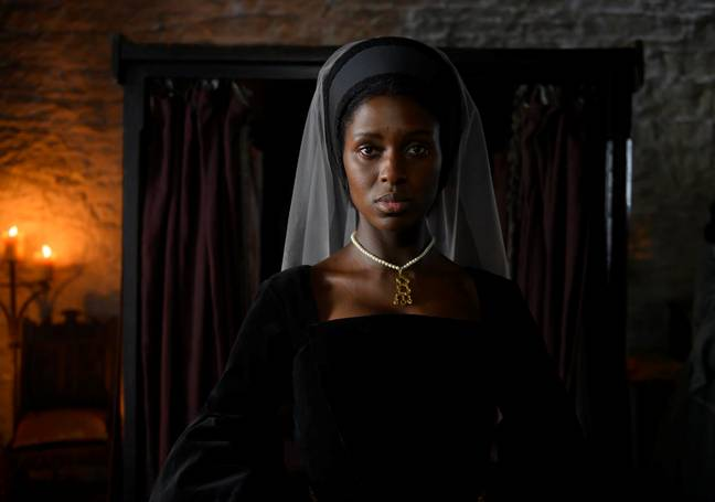 The historic story is going to be retold through Anne Boleyn's eyes (Credit: Channel 5)