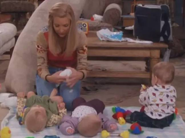 Phoebe's babies are now all grown up (Credit: Warner Bros)