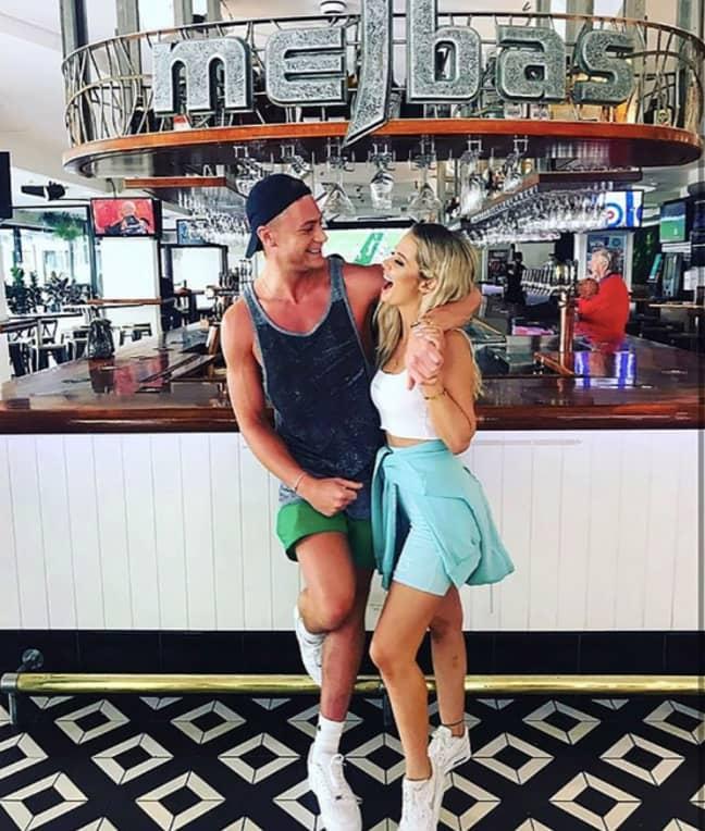 Jessika and Scotty T met on a club tour (Credit: Instagram: jessika_power)