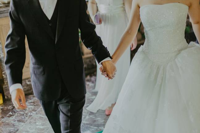 Illegal weddings with 300 guests are still going ahead according to one shocking report (Credit: Pexels)