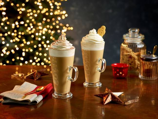 Festive favourites are also returning (Credit: Costa)