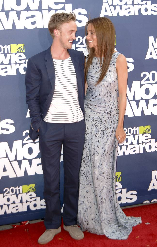 Tom Felton and Jade Olivia dated for seven years (Credit: Shutterstock)