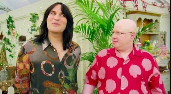 Matt Lucas is actually a year younger than Noel Fielding (Credit: Channel 4)