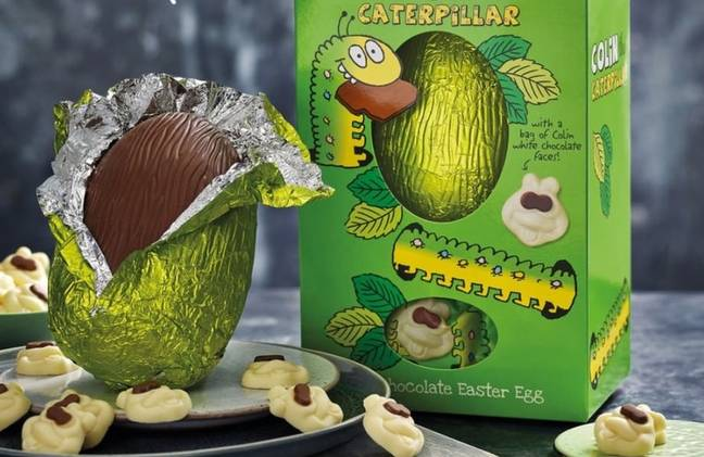 You can now also get a Colin easter egg (Credit: M&S)