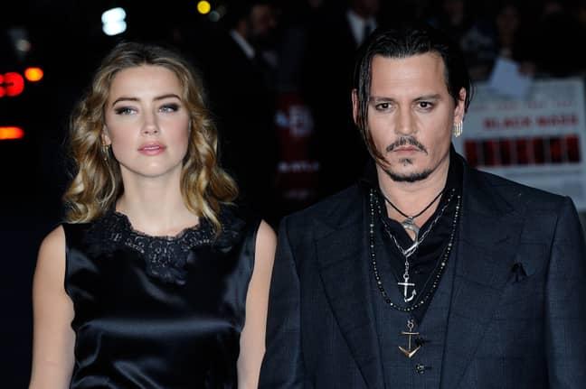 Amber Heard and ex husband Johnny Depp (Credit: PA)