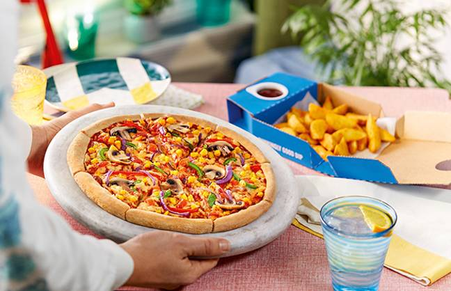 The two vegan offerings will be available from 46 stores across the UK and Ireland (Credit: Dominos)