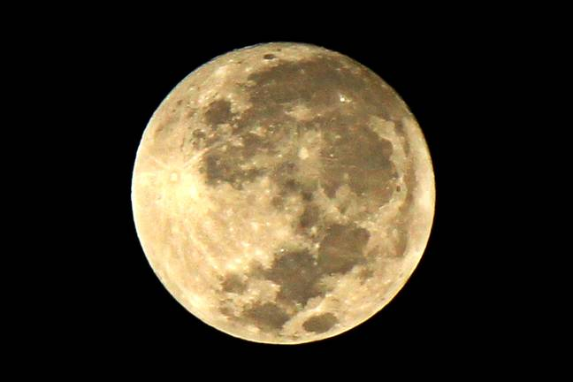 The Full Cold Moon will be on the horizon on Thursday night (Credit: PA)