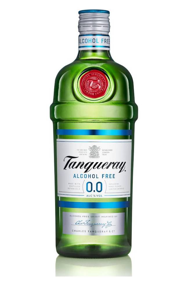 The tipple promises the same taste but no booze (Credit: Tanqueray)