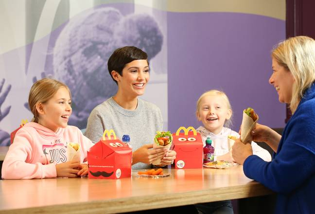 A vegan Happy Meal will also be available (Credit: PA)