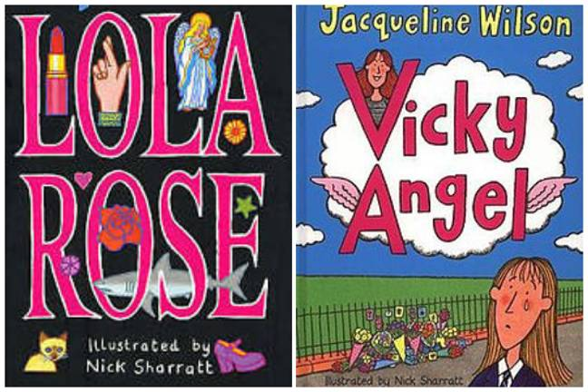 Lola Rose and Vicky Angel both have some upsetting moments (Credit: Penguin Random House)