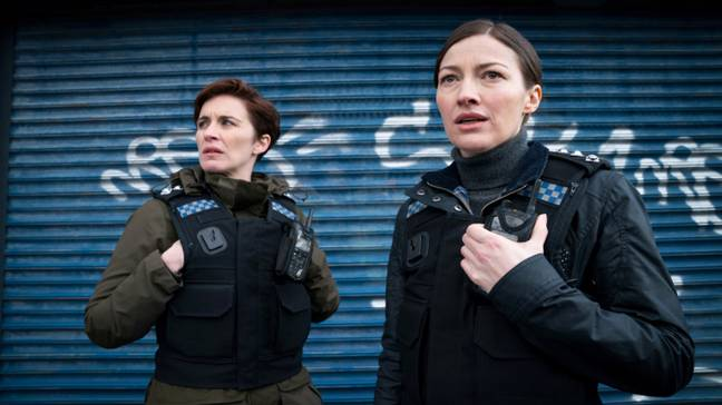 Line of Duty returned on Sunday with new character Detective Chief Inspector Joanne Davidson (Credit: BBC)