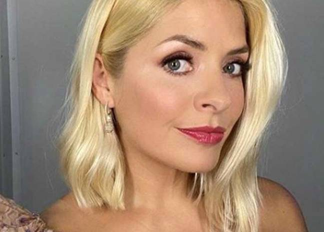 Holly's stylist has been sharing her makeup looks week on week (Credit: Patsy O'Neill)