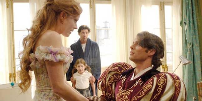 James Marsden and Amy Adams in Enchanted (Credit: Walt Disney Pictures)