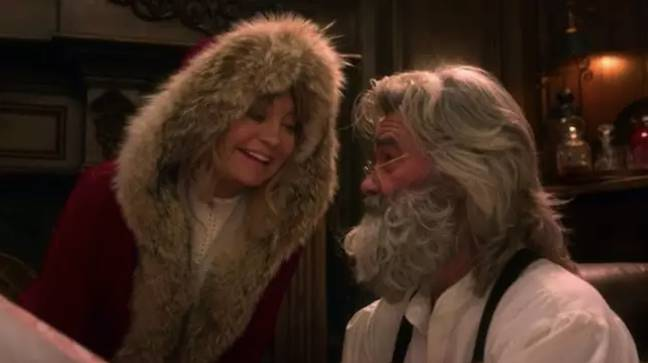 Mrs Claus will play a bigger role in the sequel (Credit: Netflix)