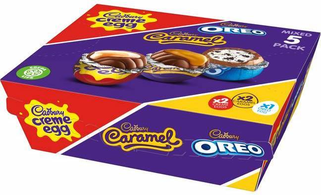 Cadbury has launched a five pack of its best-loved eggs (Credit: Cadbury)