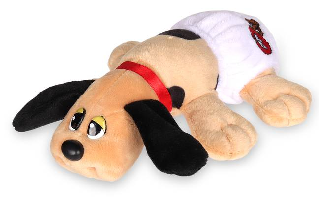 New born pups from the Pound Puppies range come wearing dinky nappies (Credit: TheToyShop.Com)