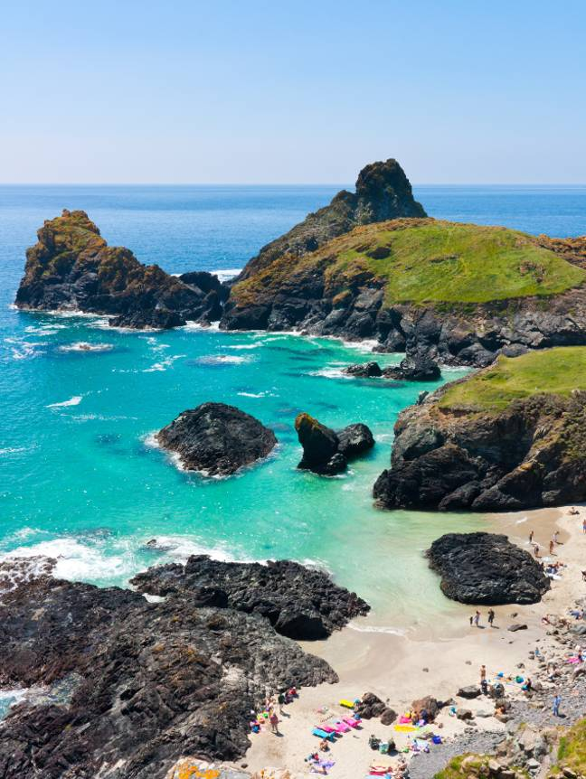 Kynance Cove is one of Britain's most beautiful beaches (Credit: Shutterstock)