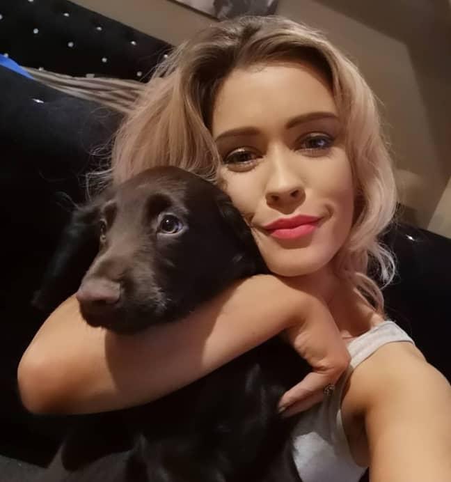 Chloe Jones's dogs mistook her vibrator for a dog toy (Credit: Chloe Jones)