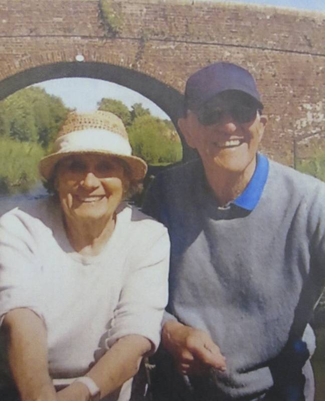 The pair have been together for 26 years, and decided to marry in a care home (Credit: SWNS)