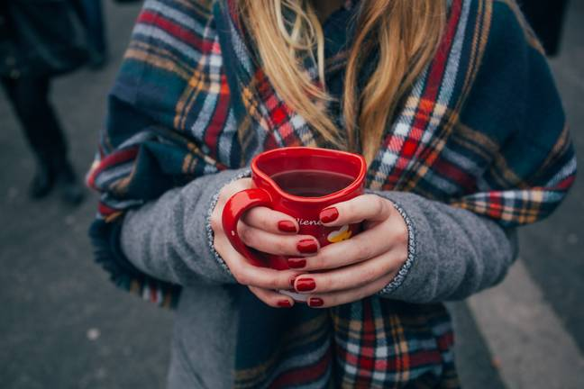 No, you don't have to step away from the mulled wine! (Credit: Unsplash)