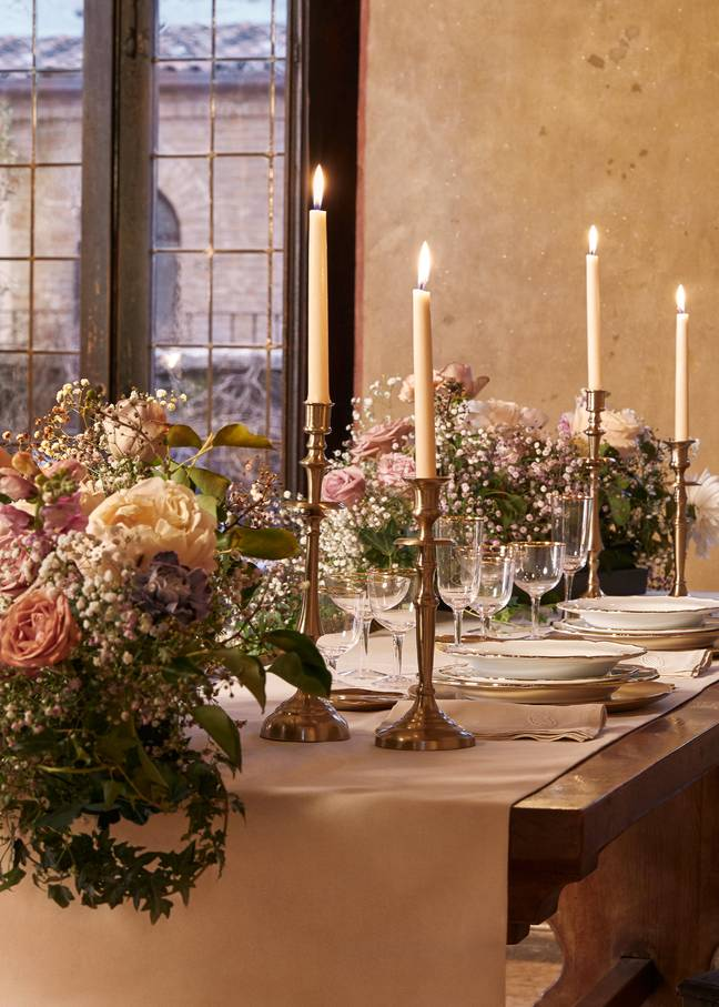 The stay includes a romantic candlelit dinner cooked by two-Michelin Star chef Giancarlo Perbellini (Credit: Airbnb)