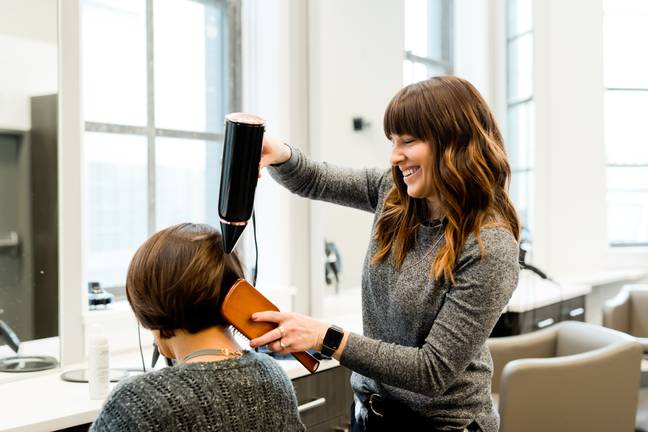 Hairdressers can be trained to recognise and help victims (Credit: Unsplash)