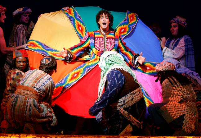A 2007 production of Joseph and the Technicolour Dreamcoat (Credit: PA)