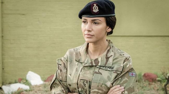 Our Girl stars Michelle Keegan (Credit: BBC)