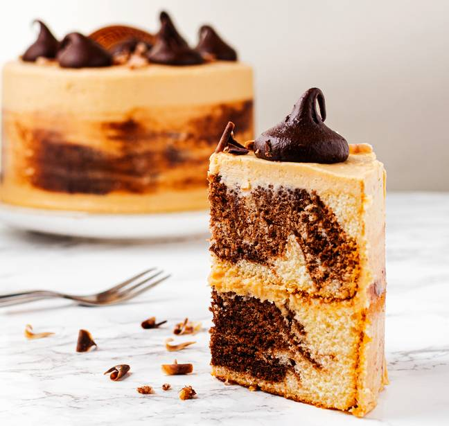 Baileys' new marble-effect cake lands in stores this week (Credit: Baileys)