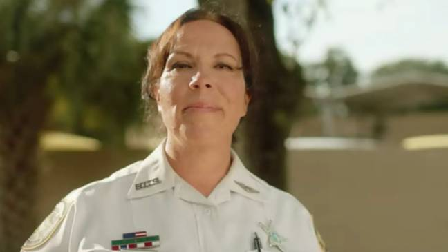 Lisa McVay is now a police officer at the Hillsborough Counry Sherrif's Office (Credit: Netflix)