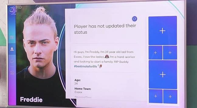 Players communicate through a simulated social media platform. (Credit: Channel 4/The Circle)